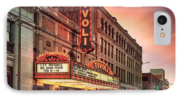 Tivoli Theatre Valentines Day Sunset IPhone Case