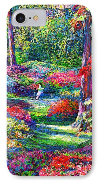 England iPhone 8 Case - To Read And Dream by Jane Small