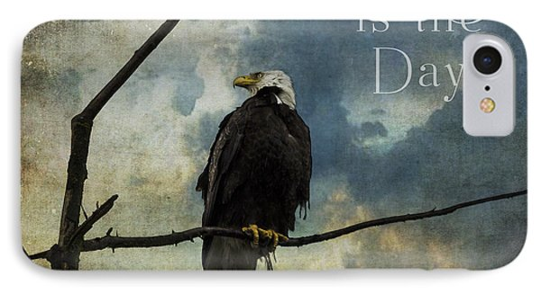 Today Is The Day - Inspirational Art By Jordan Blackstone IPhone Case