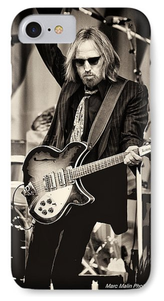 Rock And Roll iPhone 8 Case - Tom Petty by Marc Malin