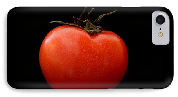 Tomato On Black IPhone Case