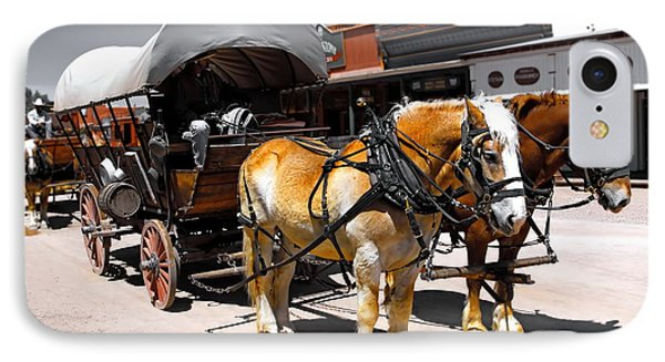 Tombstone Wagon IPhone Case