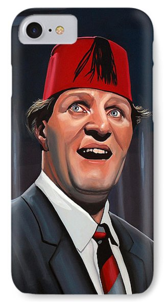Magician iPhone 8 Case - Tommy Cooper by Paul Meijering