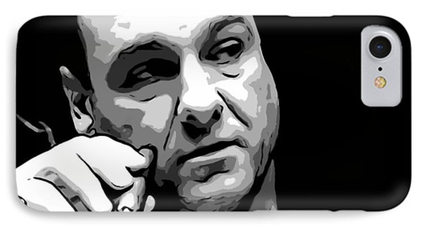 Tribute iPhone 8 Case - Tony Soprano by Dan Sproul
