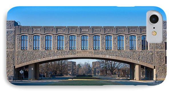Torgersen Hall At Virginia Tech IPhone Case
