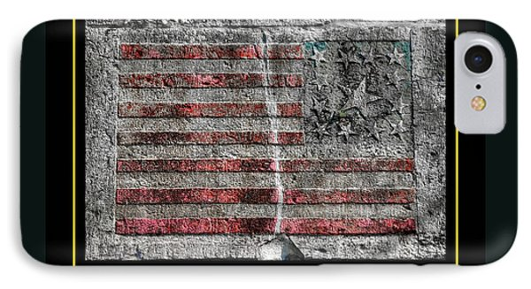 Tattered Torn . . . . . Never Broken - Memorial Day 2014 Antietam National Battlefield IPhone Case