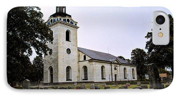 Torstuna Kyrka Church IPhone Case