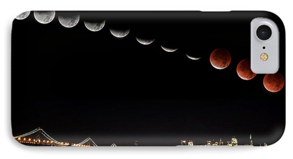 Total Eclipse Of The Moon IPhone Case