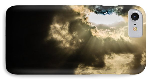 Total Solar Eclipse Breakthrough IPhone Case
