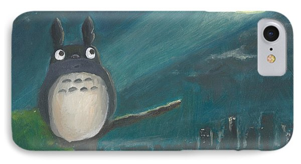 Totoro Batman And Los Angeles IPhone Case