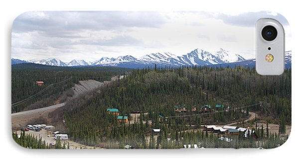 Tourist Central Denali Alaska IPhone Case