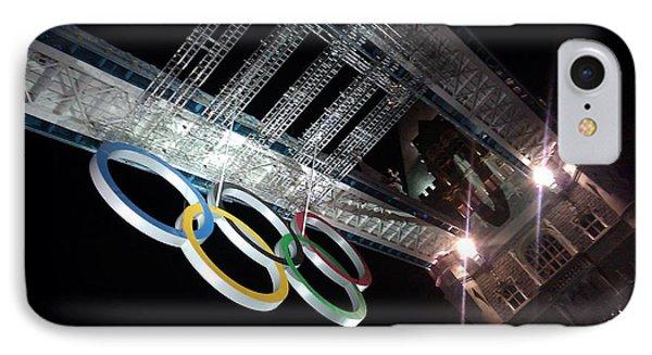 Tower Bridge London Olympics Night IPhone Case