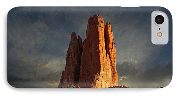 Tower Of Babel At Sunset IPhone Case
