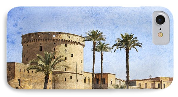 Tower Of Mohamed Ali Citadel In Cairo IPhone Case