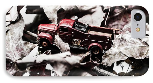 Toy Fire Truck IPhone Case