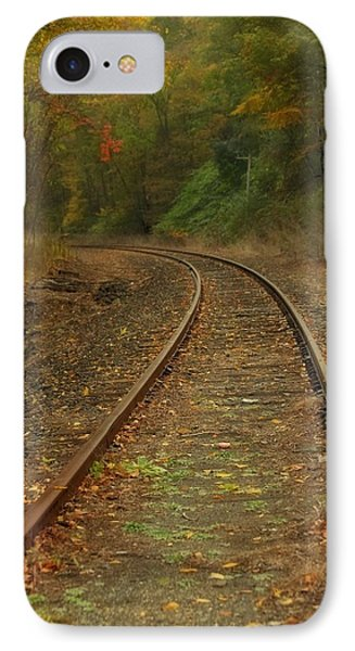 Tracking Thru The Woods IPhone Case