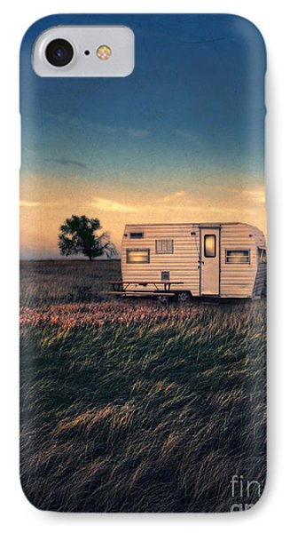 Trailer At Dusk IPhone Case