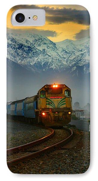 Train In New Zealand IPhone Case