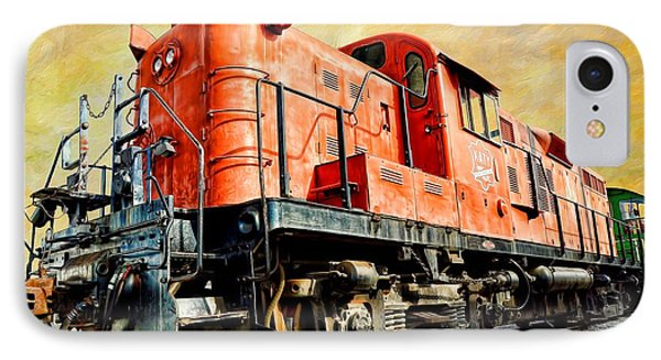 Train - Mkt 142 - Rs3m Emd Repowered Alco IPhone Case