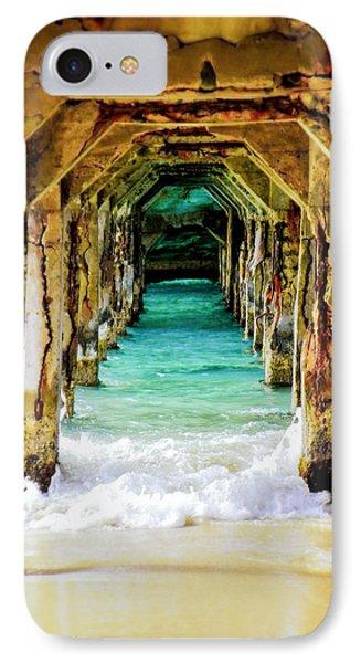 Beach iPhone 8 Case - Tranquility Below by Karen Wiles