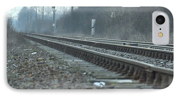 Transsiberian Path IPhone Case