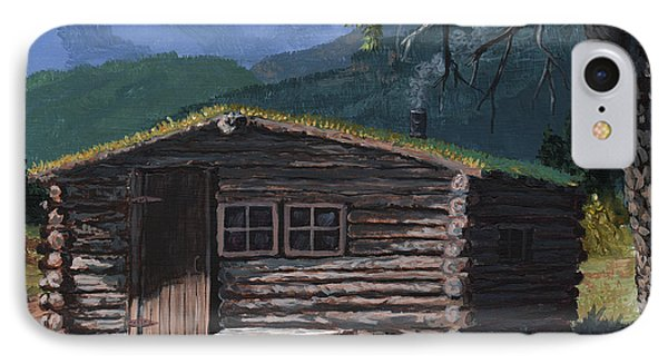 Trapper Cabin IPhone Case