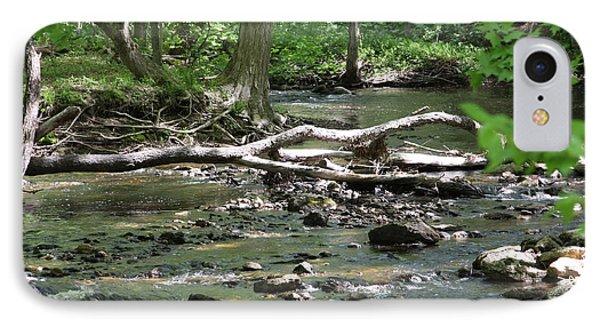 Tree Across River IPhone Case