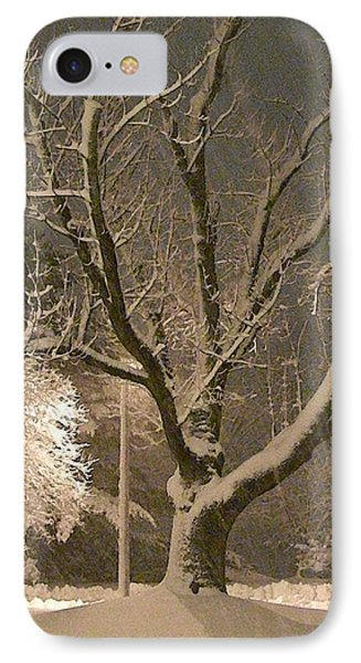 Tree At Night IPhone Case