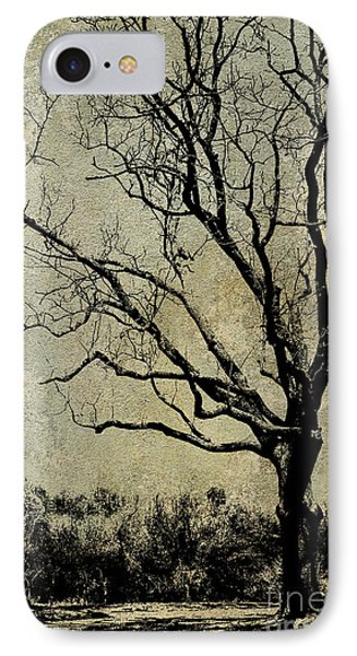Tree Before Spring IPhone Case