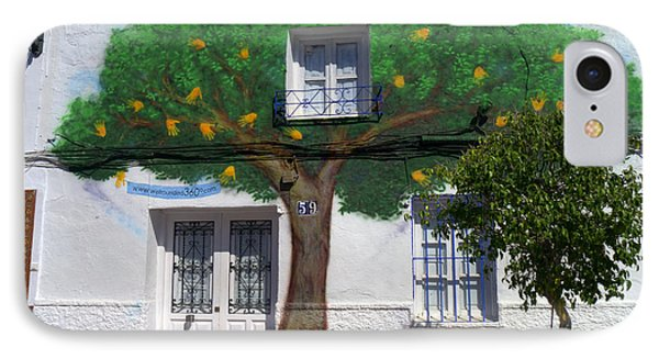 Tree House In Spain IPhone Case