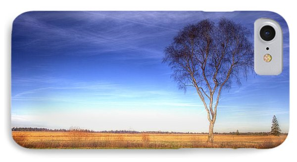 Tree In The Murnauer Moos IPhone Case