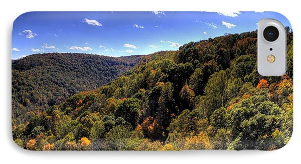 Trees Over Rolling Hills IPhone Case