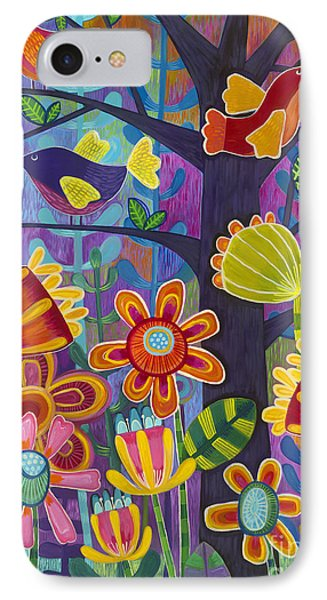 IPhone Case featuring the painting Tres Amigos by Carla Bank