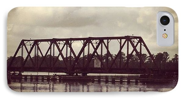 Trestle On The Pamlico River IPhone Case