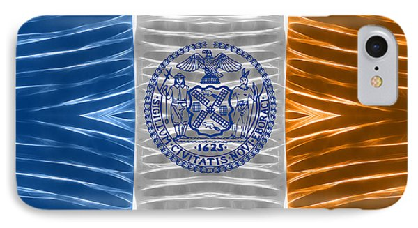 Triband Flags - New York City IPhone Case