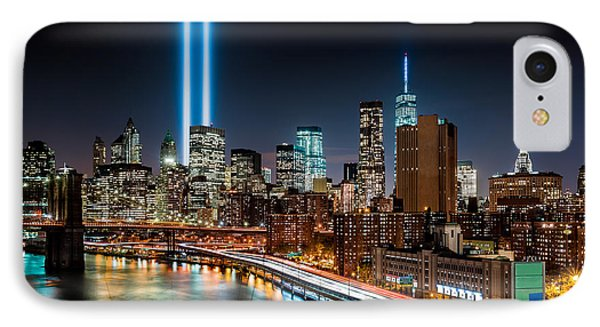 Tribute In Light Memorial IPhone Case