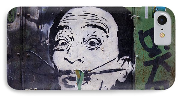 Tribute To Salvador Dali IPhone Case