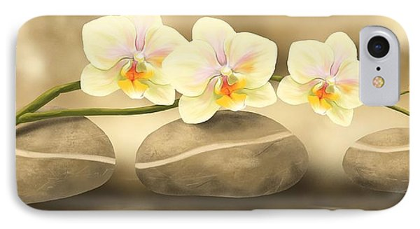 Orchid iPhone 8 Case - Trilogy by Veronica Minozzi