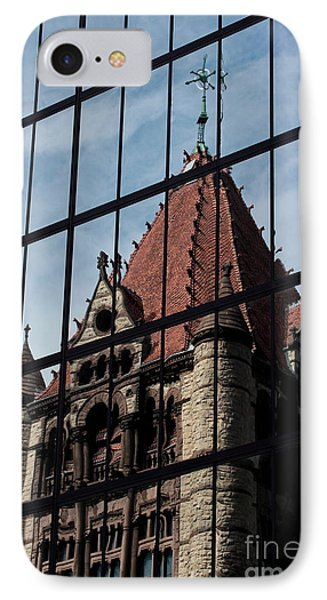 Trinity Chruch Reflected IPhone Case