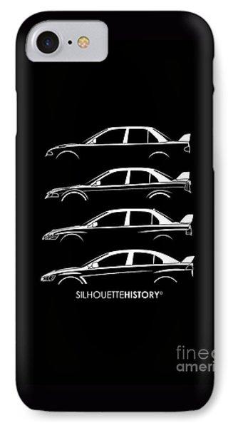 Triple Diamonds Silhouettehistory IPhone Case