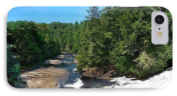 Triple Falls North Carolina IPhone Case