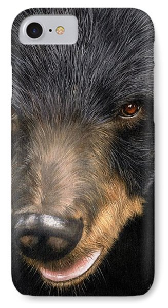 Trixie Moon Bear - In Support Of Animals Asia IPhone Case