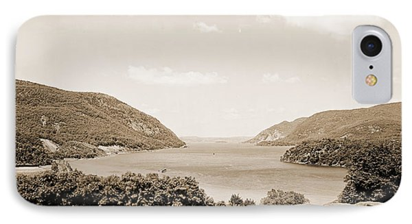 Trophy Point North Fro West Point In Sepia Tone IPhone Case
