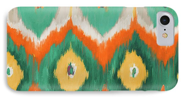 Fruit iPhone 8 Case - Tropical Ikat II by Patricia Pinto
