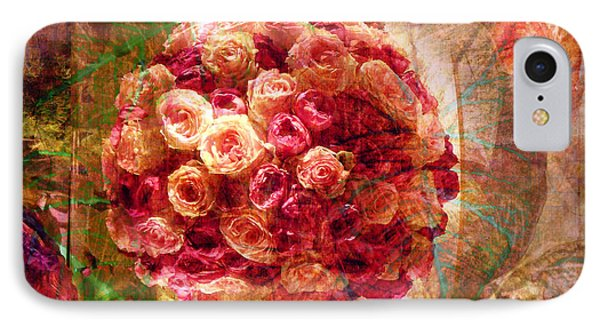 English Rose Bouquet IPhone Case