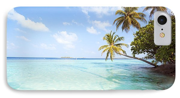 Tropical Sea In The Maldives - Indian Ocean IPhone Case