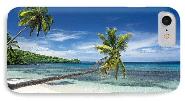 Tropical White Sand Beach IPhone Case