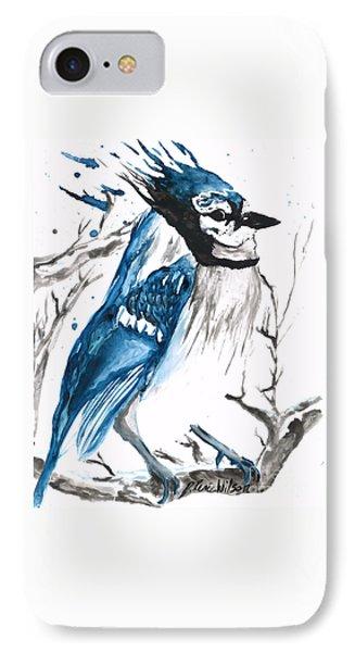 True Blue Jay IPhone Case