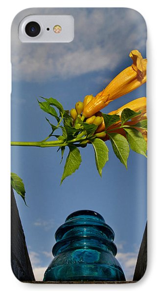 Trumpet Vine IPhone Case