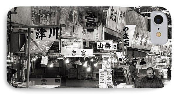 Tsukiji Fish Market Tokyo IPhone Case